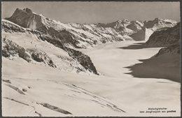 Aletschgletscher Vom Jungfraujoch Aus Gesehen, Valais, C.1940s - Wehrli Foto AK - VS Valais
