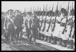 MUSSOLINI - Ascari Eritrei Rendono Onore Al Duce E A Balbo / 1938 - (Archivio EMI) - MUSSOLINI INEDITO 1922 /1940 - Personaggi