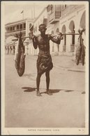 Native Fisherman, Aden, C.1920s - Lehem RP Postcard - Yemen