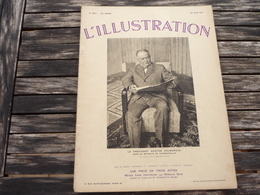 L'Illustration Le Président Gaston Doumergue Dans Sa Retraite De Tournefeuille N°4921 26 Juin 1937 - 1900 - 1949