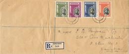 29238. Carta Certificada ZANZIBAR 1936 - Zanzibar (1963-1968)