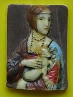 Fève - Les Oeuvres De Léonard De Vinci 2008 - La Dame à L' Hermine 1483 1490 - Characters