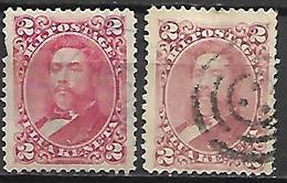 HAWAI   -   1892 .  Y&T N° 30a Oblitéré. - Hawaii