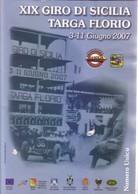 BOOK XIX GIRO DI SICILIA-TARGA FLORIO 2007 - Libri