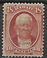 HAWAI   -   1864 .  Y&T N° 26 ** - Hawaii