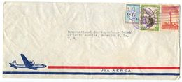 Dominican Republic 1950 Airmail Cover Ciudad Trujillo To U.S. W/ Scott 434, C74, RA10 - Dominicaanse Republiek