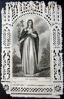 IMAGE PIEUSE CANIVET SANTINI  SAINTE ANGELE VAURS EDITEUR  BON ETAT - Religion & Esotérisme