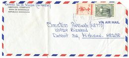 Dominican Republic 1966 Airmail Cover Pepillo Salcedo To U.S. W/ Scott 581 & RA21a - Dominicaanse Republiek