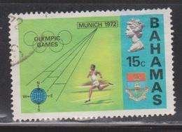 BAHAMAS Scott # 337 Used - QEII & Munich Olympics - Bahamas (...-1973)