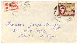 Haiti 1960 Airmail Cover Port-au-Prince To U.S. W/ Scott C163 & RA29 - Haiti