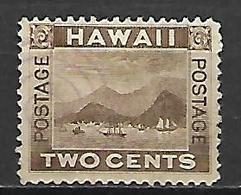 HAWAI   -   1894 .  Y&T N° 64 Oblitéré. - Hawaii