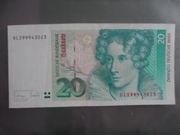 Allemagne/Germany : 20 Deutsche Bundesbank 1993 - [ 7] 1949-… : FRG - Fed. Rep. Of Germany