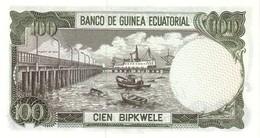 EQUATORIAL GUINEA P. 14 100 E 1979 AUNC - Guinée Equatoriale