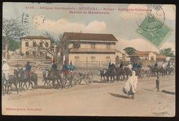 SENEGAL  - DAKAR = ARTILLERIE COLONIALE - RETOUR DE MANOEUVRES - Sénégal