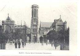PARIS - EGLISE SAINT-GERMAIN-L'AUXERROIS . CARTE ANIMEE NON ECRITE - Eglises