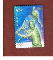 AUSTRALIA  -  SG 2021  -      2000 0LYMPIC GAMES:  TENNIS  -       USED - Usati