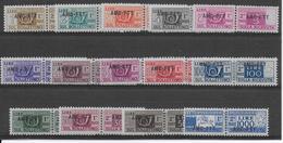 TRIESTE - RARE COLIS POSTAUX YVERT N°12A/19 * (19 **) - COTE = 425 EUR. TB - Paketmarken/Konzessionen