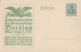 DR Ganzsache Minr.P94II/03 Postfrisch Jahthundertfeier Breslau - Deutschland