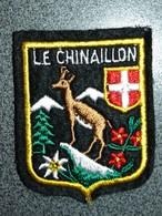ECUSSON TOURISTIQUE  LE CHINAILLON - Ecussons Tissu