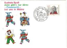 GERMANIA - GERMANY - Deutschland - ALLEMAGNE - 1982 - 60 Georg Philipp Telemann + Special Cancel Mainz MCV Von Mainzern - Storia Postale