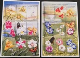 Sierra Leone 1996 Flowers  POSTAGE FEE TO BE ADDED ON ALL ITEMS - Sierra Leone (1961-...)