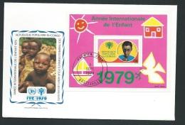 Fdc Année Internationale De L'enfant - 1979 - République Populaire Du Congo  - Fau1404 - FDC