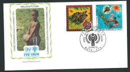 Fdc Année Internationale De L'enfant - 1979 - Wallis Et Futuna     - Fau1420 - Covers & Documents