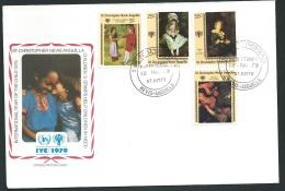 Fdc Année Internationale De L'enfant - 1979   -  Anguilla   - Fau1422 - Anguilla (1968-...)