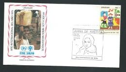 Fdc Année Internationale De L'enfant - 1979   - Uruguay    - Fau1424 - Uruguay