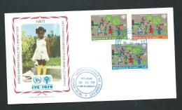 Fdc Année Internationale De L'enfant - 1979   -  Haiti   - Fau1427 - Haiti