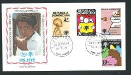 Fdc Année Internationale De L'enfant - 1979   -  Republique Dominicaine     - Fau1432 - Dominicaine (République)