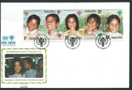 Fdc Année Internationale De L'enfant - 1979   -  Nauru      - Fau1433 - Nauru