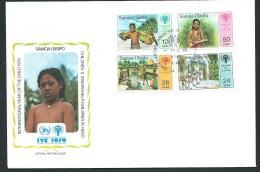 Fdc Année Internationale De L'enfant - 1979   -samoa   - Fau1436 - Samoa (Staat)