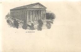 PARIS . LA MADELEINE . DOS NON DIV  NON ECRITE - Autres Monuments, édifices