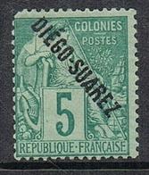 DIEGO-SUAREZ N°16 N* - Unused Stamps