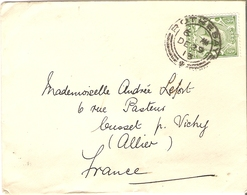Grande-Bretagne 1913 - Enveloppe De Rothesay, Ecosse à Cusset, France - Cachet De Réception - Lettres & Documents