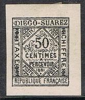 DIEGO-SUAREZ TAXE N°2 N* - Unused Stamps