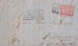 NDP Brief EF Minr.16 R3 Haaren Reg. Bez. Minden 5.6.69 Mit Inhalt - Norddeutscher Postbezirk