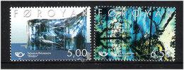 Faroe Islands 2002 Norden: 20th Century Art, Mi 421-422, MNH(**) - Faeroër