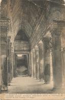 X3372 Cambodge - Angor Vat - Portion Est De La Branche Ouest-est De La Colonnade Cruciale / Non Viaggiata - Cambogia
