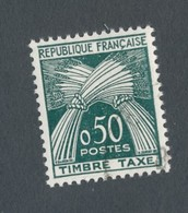 FRANCE - TAXE N°YT 93 OBLITERE - COTE YT : 1.40€ - 1960 - 1960-.... Oblitérés
