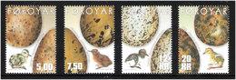 Faroe Islands 2002 Birds' Eggs And Chickens, Mi 427-430, MNH(**) - Faeroër