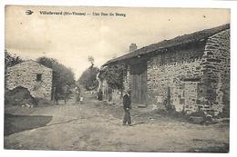 VILLEFAVARD - Une Rue Du Bourg - Non Classés
