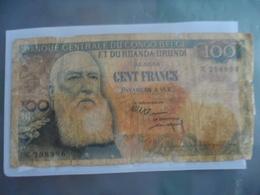 Belge Congo : 100 Francs - Belgian Congo Bank