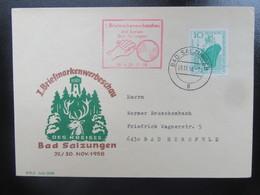 Briefmarkenwerbeschau 1958 Bad Salzungen Mi 663 - DDR