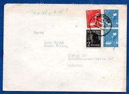 RDA / Enveloppe / De Munich / Pour Zürich - [6] Democratic Republic