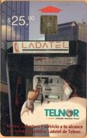 Mexico - MX-TNR-0029, Telnor, Caseta Telefónica, Phone Booth, 25 $, 1997, Used - Mexico
