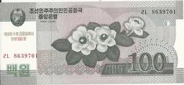 COREE DU NORD 100 WON 2013 UNC P CS12 - Corea Del Norte