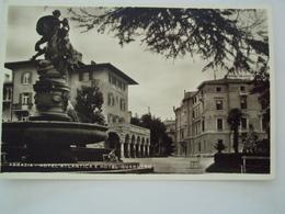 ISTRIA CROAZIA CARTOLINA FOTO DA ABBAZIA HOTEL QUARNERO  FIUME FORMATO PICCOLO - Croatia