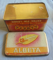 Lot From  11 Empty Tin Boxes Around Tobaco GC ( 11 Scan ) - Caves à Cigares Vides